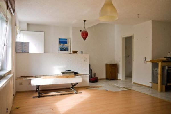 Einliegerwohnung Wohnzimmer